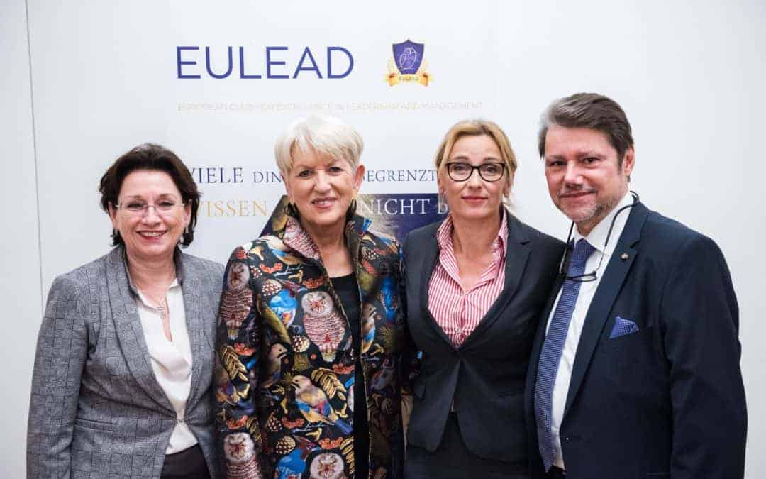 EULEAD Salon with Maria Rauch-Kallat – review