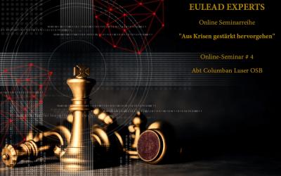 EULEAD Experts – Online Seminar #4 – Abt Columban Luser OSB, Stift Göttweig am 08.06.2021